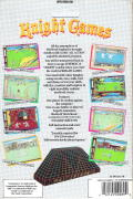 Knight Games DOS Back Cover