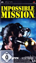 Impossible Mission PSP Front Cover