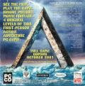 Disney's Atlantis: The Lost Empire - Search for the Journal Windows Back Cover