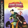 Disney's Story Studio: Disney's Mulan PlayStation Front Cover