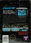 Stack-Up NES Back Cover