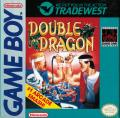 Double Dragon Game Boy Front Cover