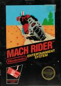 Mach Rider NES Front Cover
