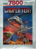 Choplifter! Atari 7800 Front Cover