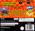 Super Monkey Ball: Touch & Roll Nintendo DS Back Cover