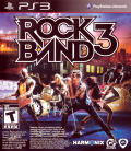 Rock Band 3 PlayStation 3 Front Cover