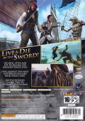 Disney Pirates of the Caribbean: At World's End Xbox 360 Back Cover