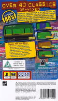 Activision Hits Remixed PSP Back Cover