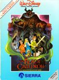 The Black Cauldron Apple II Front Cover