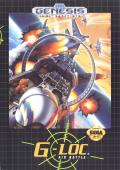 G-Loc Air Battle Genesis Front Cover