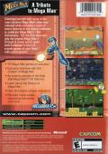 Mega Man: Anniversary Collection Xbox Back Cover
