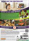 Kinect Adventures! Xbox 360 Back Cover