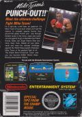 Mike Tyson's Punch-Out!! NES Back Cover