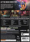 Dance Central Xbox 360 Back Cover