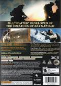 Medal of Honor Xbox 360 Back Cover