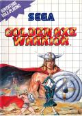 Golden Axe Warrior SEGA Master System Front Cover