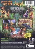 Tak: The Great Juju Challenge Xbox Back Cover