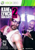 Kane & Lynch 2: Dog Days Xbox 360 Front Cover