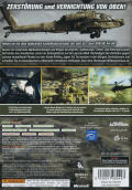 Apache Air Assault Xbox 360 Back Cover