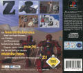 Z PlayStation Back Cover