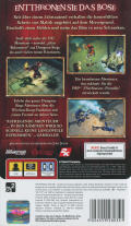 Dungeon Siege: Throne of Agony PSP Back Cover
