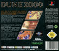Dune 2000 PlayStation Back Cover