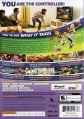 Kinect Sports Xbox 360 Back Cover