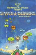 Space Quarks Apple II Front Cover
