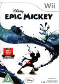 Disney Epic Mickey Wii Front Cover