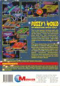 Fuzzy's World of Miniature Space Golf DOS Back Cover