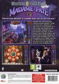 Mystery Case Files: Madame Fate Windows Other Keep Case - Back
