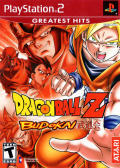 Dragon Ball Z: Budokai PlayStation 2 Front Cover