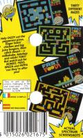 Fast Food ZX Spectrum Back Cover