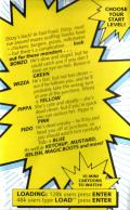 Fast Food ZX Spectrum Inside Cover