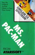 Ms. Pac-Man ZX Spectrum Front Cover