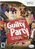 Disney Guilty Party Wii Front Cover