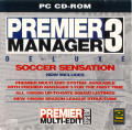 Premier Manager 3 De-Luxe DOS Front Cover