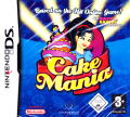 Cake Mania Nintendo DS Front Cover