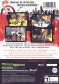 Freedom Fighters Xbox Back Cover