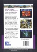Shining in the Darkness Genesis Back Cover