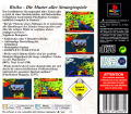 RISK: The Game of Global Domination PlayStation Back Cover