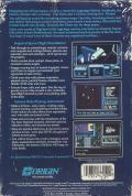 Space Rogue Apple II Back Cover