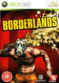 Borderlands Xbox 360 Front Cover