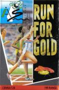 Run for Gold Commodore 64 Front Cover
