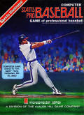 Computer Statis Pro Baseball Apple II Front Cover