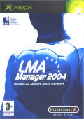 LMA Manager 2004 Xbox Front Cover