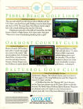 Jack Nicklaus presents the Great Courses of The U.S. Open DOS Back Cover