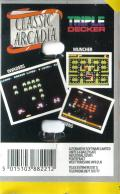 Classic Arcadia ZX Spectrum Back Cover