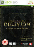 The Elder Scrolls IV: Oblivion - Game of the Year Edition Xbox 360 Front Cover