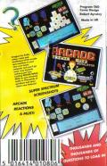 Arcade Trivia Quiz ZX Spectrum Back Cover